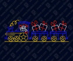 """Светодиодный подвес """"Рождественский экспресс"""""""