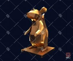 """Декоративная 3D-фигура """"Мышь"""" 1,8 м"""