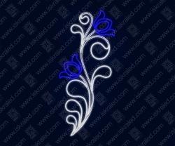 """Светодиодная консоль """"Синий цветок"""""""