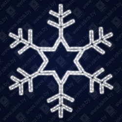 """Светодиодная 2D-фигура """"Снежинка"""""""