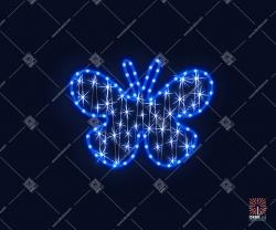 """Светодиодная 2D-фигура """"Бабочка"""""""