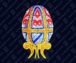 """Светодиодная 3D-фигура """"Яйцо пасхальное"""""""