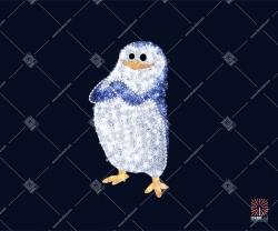 """Светодиодная 3D-фигура """"Пингвин солист"""""""