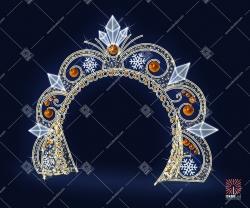 """Светодиодная арка """"Рождественское настроение"""""""