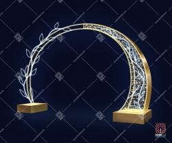"""Светодиодная арка """"Нежность"""""""