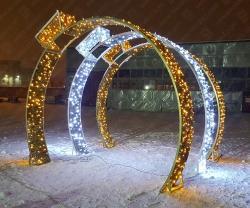 "Светодиодная арка ""Шар""_1"