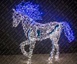 """Светодиодная 3D-фигура """"Конь вороной""""_1"""
