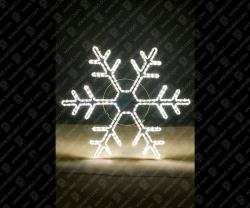 """Светодиодная 2D-фигура """"Снежинка""""_2"""