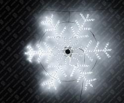 """Светодиодная 2D-фигура """"Снежинка сложная""""_2"""