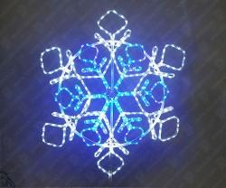 """Светодиодная 2D-фигура """"Снежинка кристалы""""_2"""