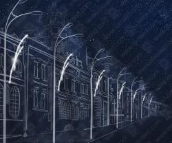 """Светодиодная консоль """"Штрихи в ночи""""_1"""