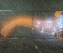 """Светодиодный подвес """"Мир музыки""""_2"""