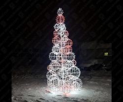 """Светодиодная елка """"Шары""""_1"""