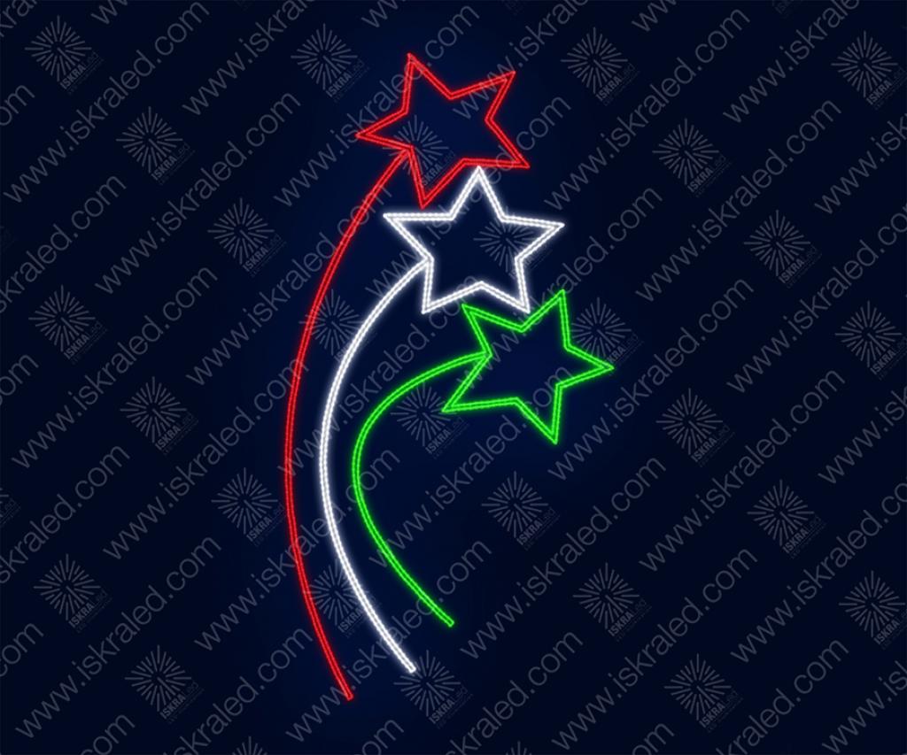 """Светодиодная консоль """"Три звезды"""""""