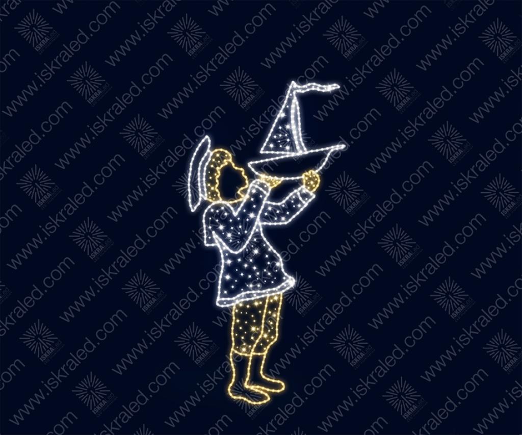"""Светодиодная 2D-фигура """"Юный моряк"""""""