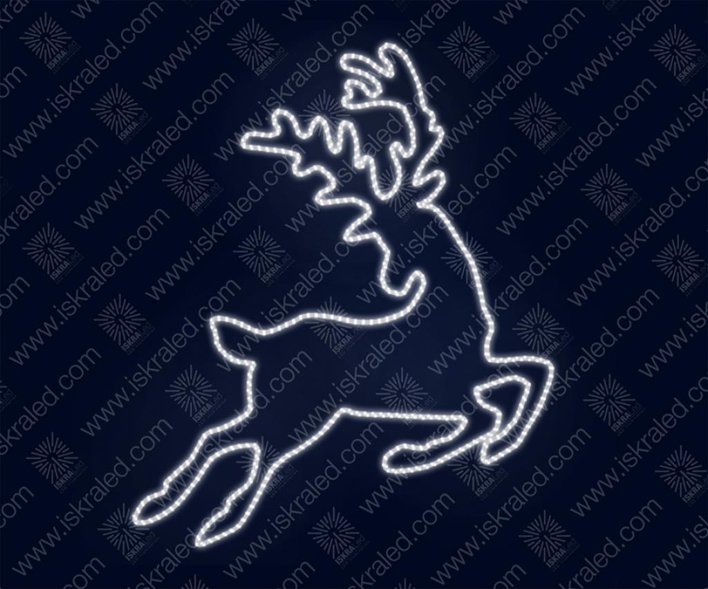"""Светодиодная 2D-фигура """"Игривый олень"""""""