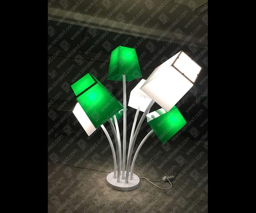 Светодиодная 3D-фигура Торшеры
