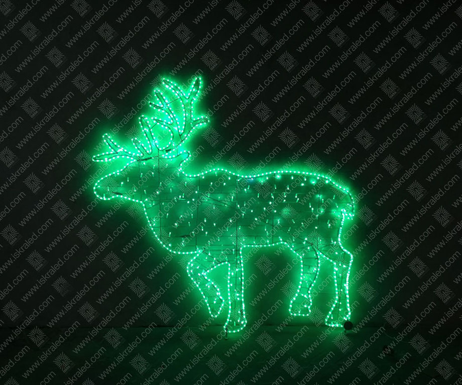 """Светодиодная 2D-фигура """"Северный олень"""""""