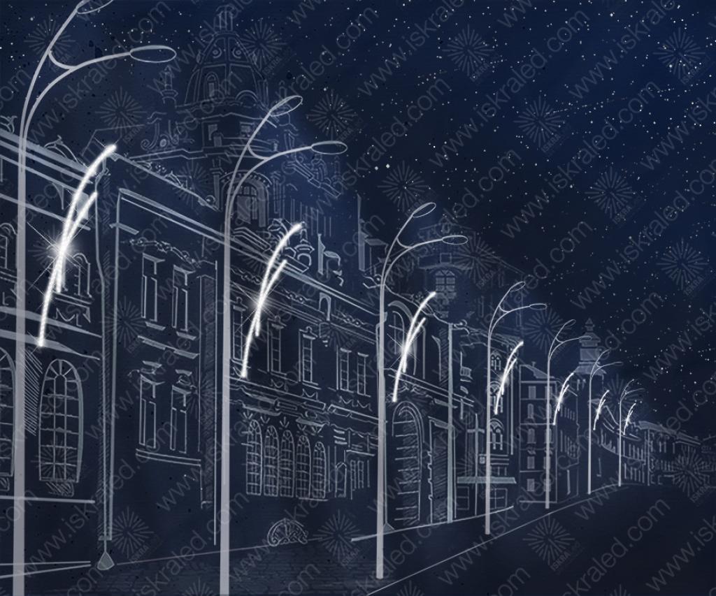 """Светодиодная консоль """"Штрихи в ночи"""""""