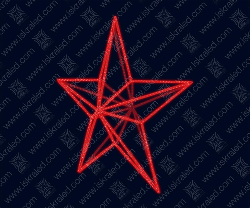 Светодиодная макушка Звезда