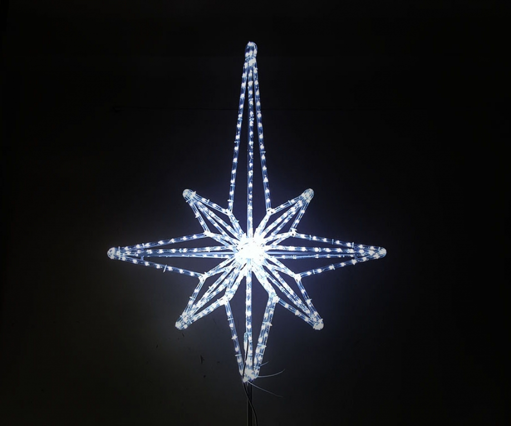 Светодиодная макушка Вифлеемская звезда